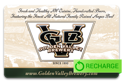 Recharge your Golden Valley Brewery Card